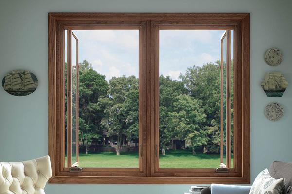 铝木复合窗