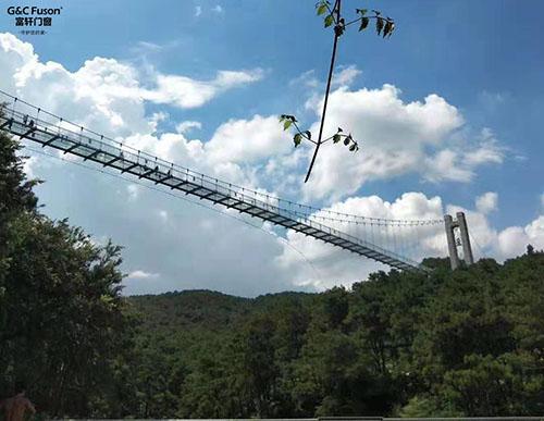 富轩门窗2019年盈香生态园拓展之旅完美结束
