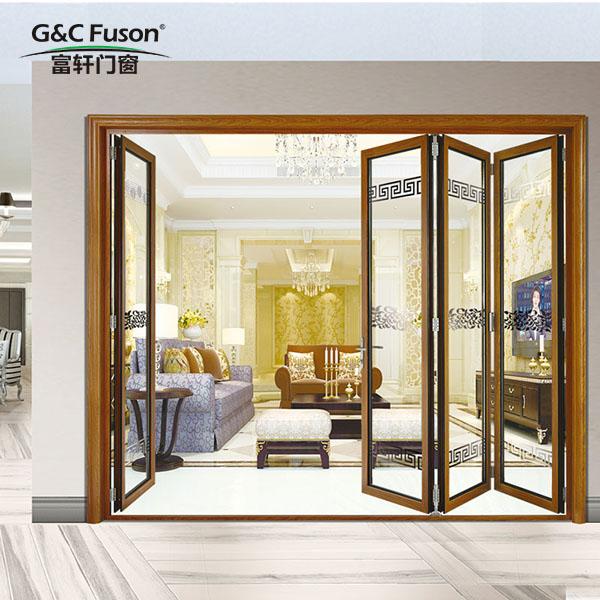 铝合金折叠门的维修保养与优点