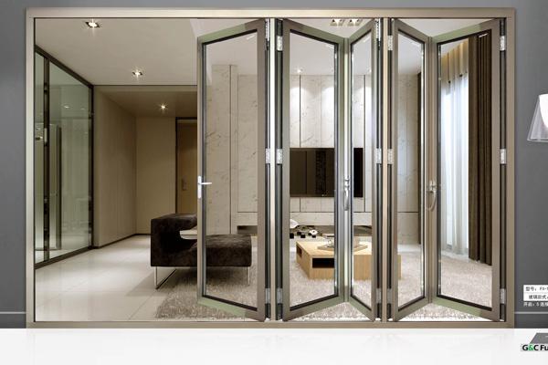 开放式厨房折叠门