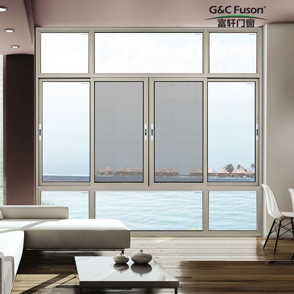 安装细节体现铝合金窗品质