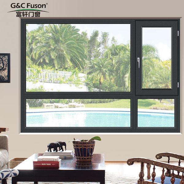 铝合金门窗:节能隔热 坚固美观