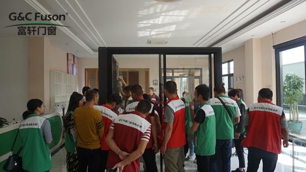富轩门窗第六届新门窗加盟商特训营圆满成功,学员们顺利毕业!