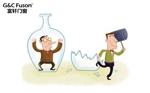 铝合金门窗企业的发展需利用优势打通渠道